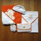 Conjunto laranja